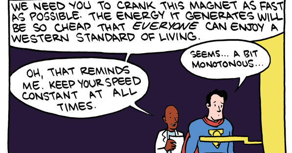 Why Superman shouldn't have fought crime and what this shows about doing good with your career