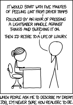 xkcd dream job