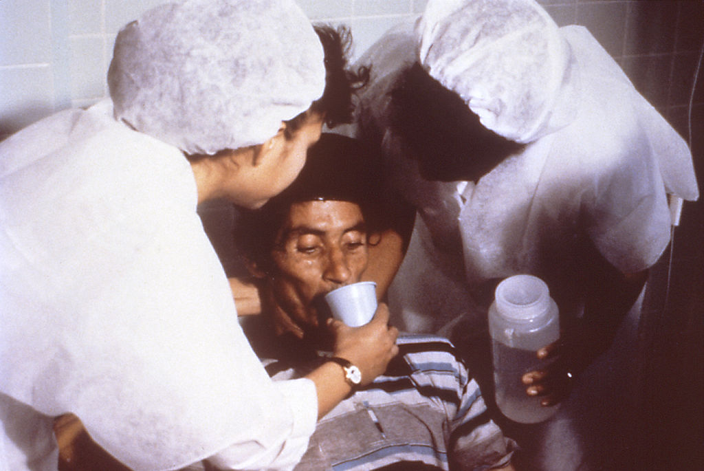 Dr. Nalin helped to invent oral rehydration therapy
