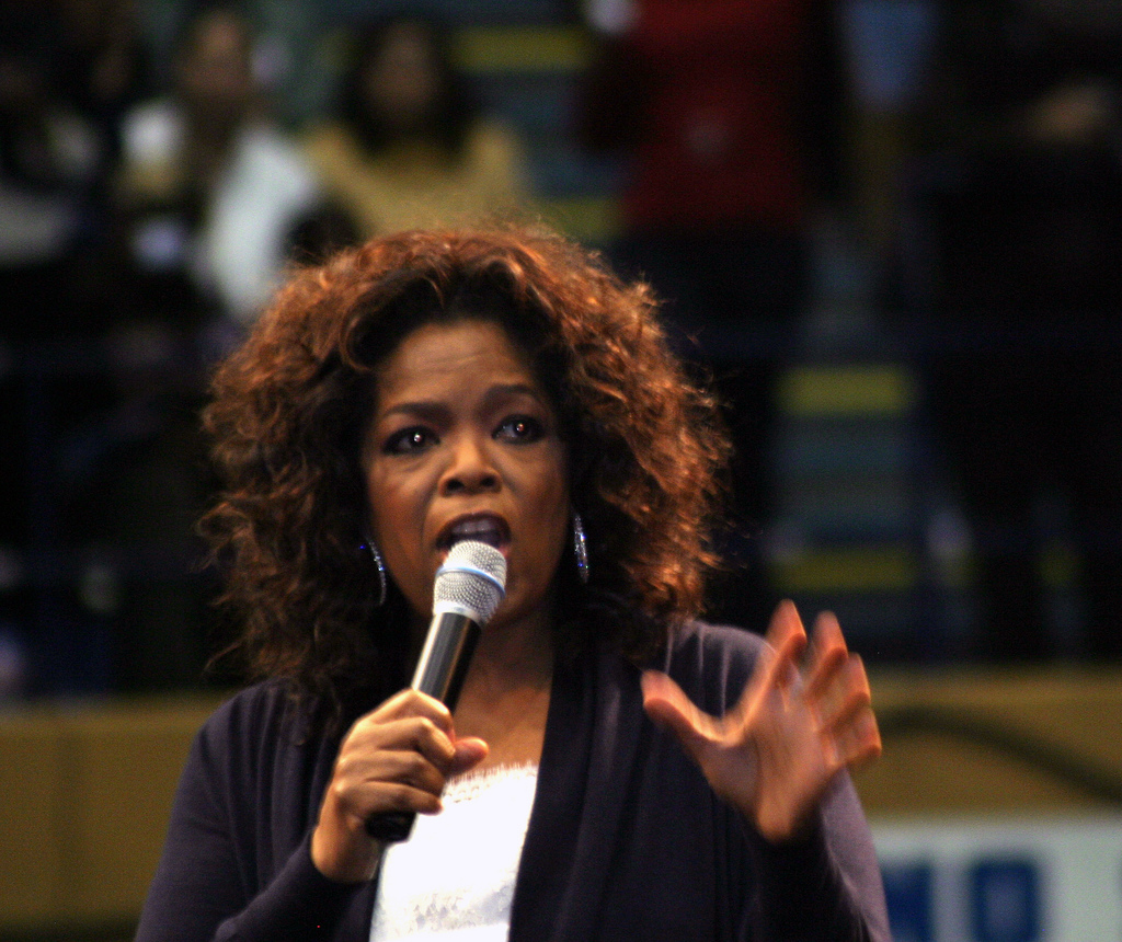 Oprah at first failed in TV