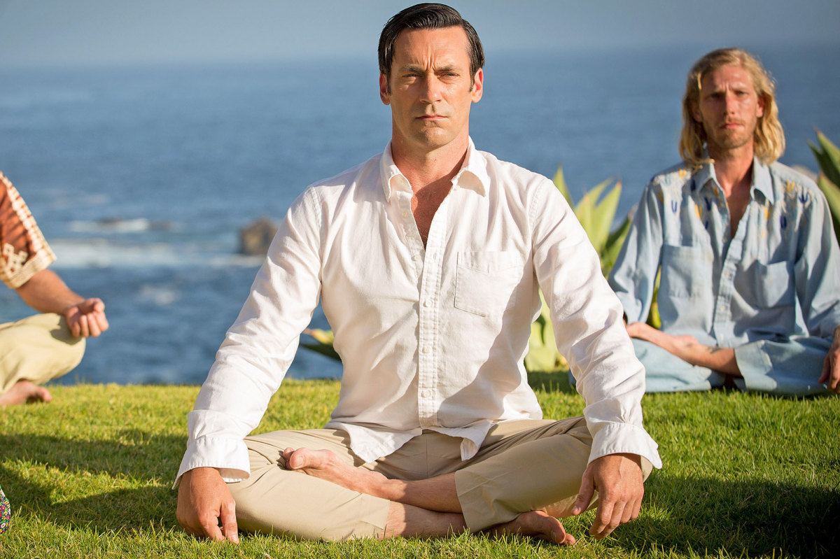 Don Draper meditating