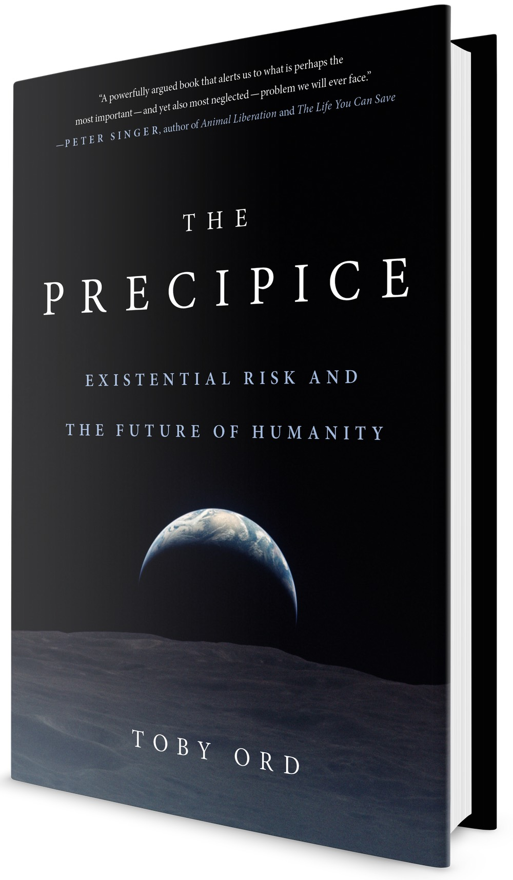 The Precipice: Existential Risk and the Future of Humanity book cover